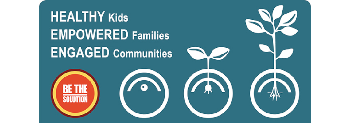 Healthy kids, empowerd families, engaged communities